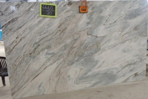 Aqua Polished Marble Slab