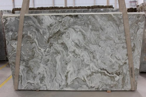 Avalanche Polished Marble Slab