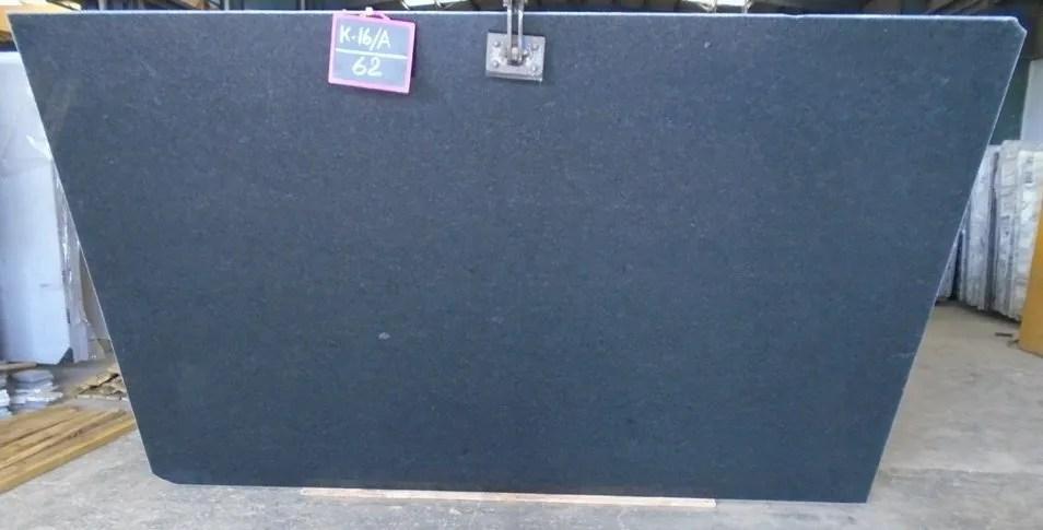 Black Pearl Honed Granite Slab Trendy Surfaces
