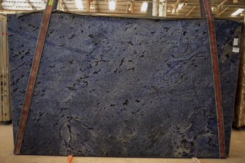 Blue Bahia Polished  Granite Slab