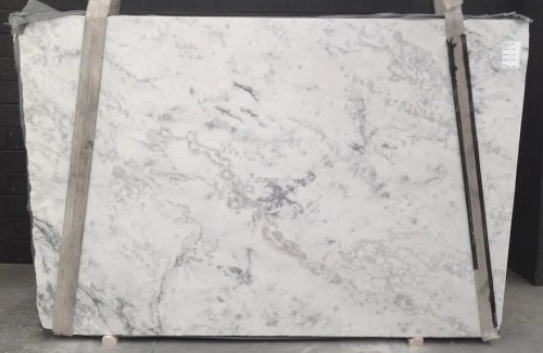 Brazilian Carrara Polished Marble Slab
