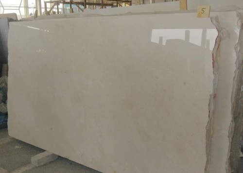 Crema Marfil Polished Marble Slab