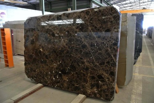Emperador Dark Polished Marble Slab