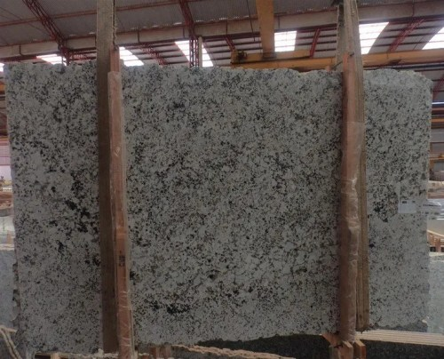 White Galaxy Polished Granite Slab
