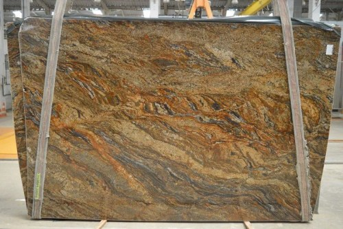 Cinderella Gold Polished  Granite Slab