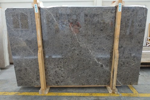 Savannah Grey Polished Marble Slab