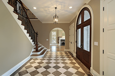 best materials for entryways and foyers