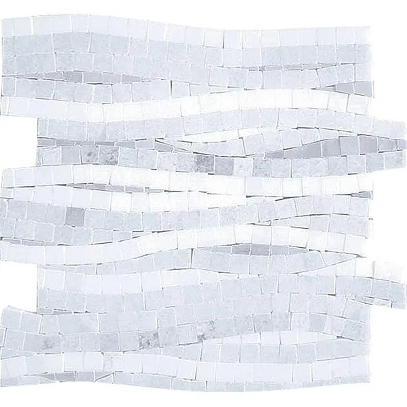 ts1402017 thassos blue celeste white marble liner pattern mosaic