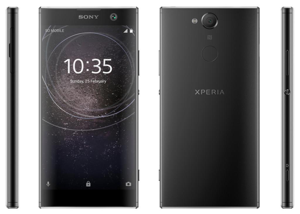 Trendy Techz Sony Xperia XA2 Press Renders
