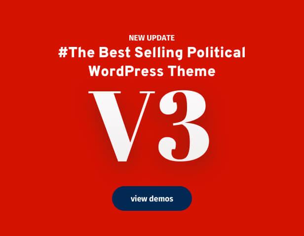 Political WordPress Theme version 3