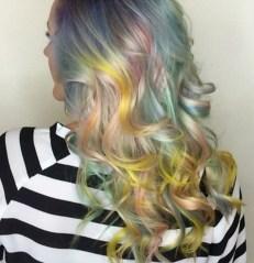 Pelo Cabello Unicornio Tendencias 2016 moda peluquería teñir decolorar trendytwo trendy two 2