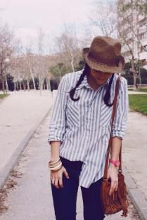 Look outfit Carmen Marta blog de moda lifestyle trendytwo trendy two gemelas alimentación vida sana sombrero 0