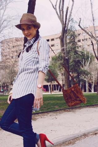 Look outfit Carmen Marta blog de moda lifestyle trendytwo trendy two gemelas alimentación vida sana sombrero2 5