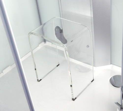 VikingBad Stol klar akryl