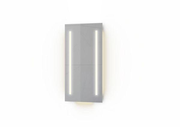 VikingBad Ida Speil med LEDlys og stikk - Ida 40
