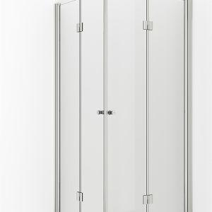 VikingBad dusjdør leddet Mats 60cm - Venstre
