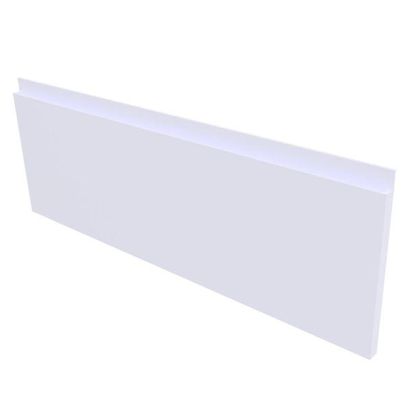 Mie fingergrep front 176 3S - Hvit høyglans