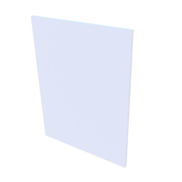 VB Sidepanel Servantskap Slim - Hvit høyglans