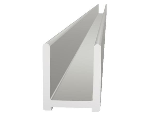 VikingBad bunnprofil Liam glass 118cm