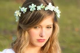 floral hair peice