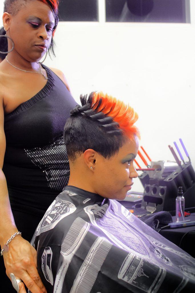 Black Haircut Near Me : black, haircut, Natural, Black, Salon,, Short, Pixie, Cuts,, Relaxers,, Loctician, Specialist