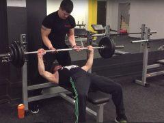 Тренировка с Александром