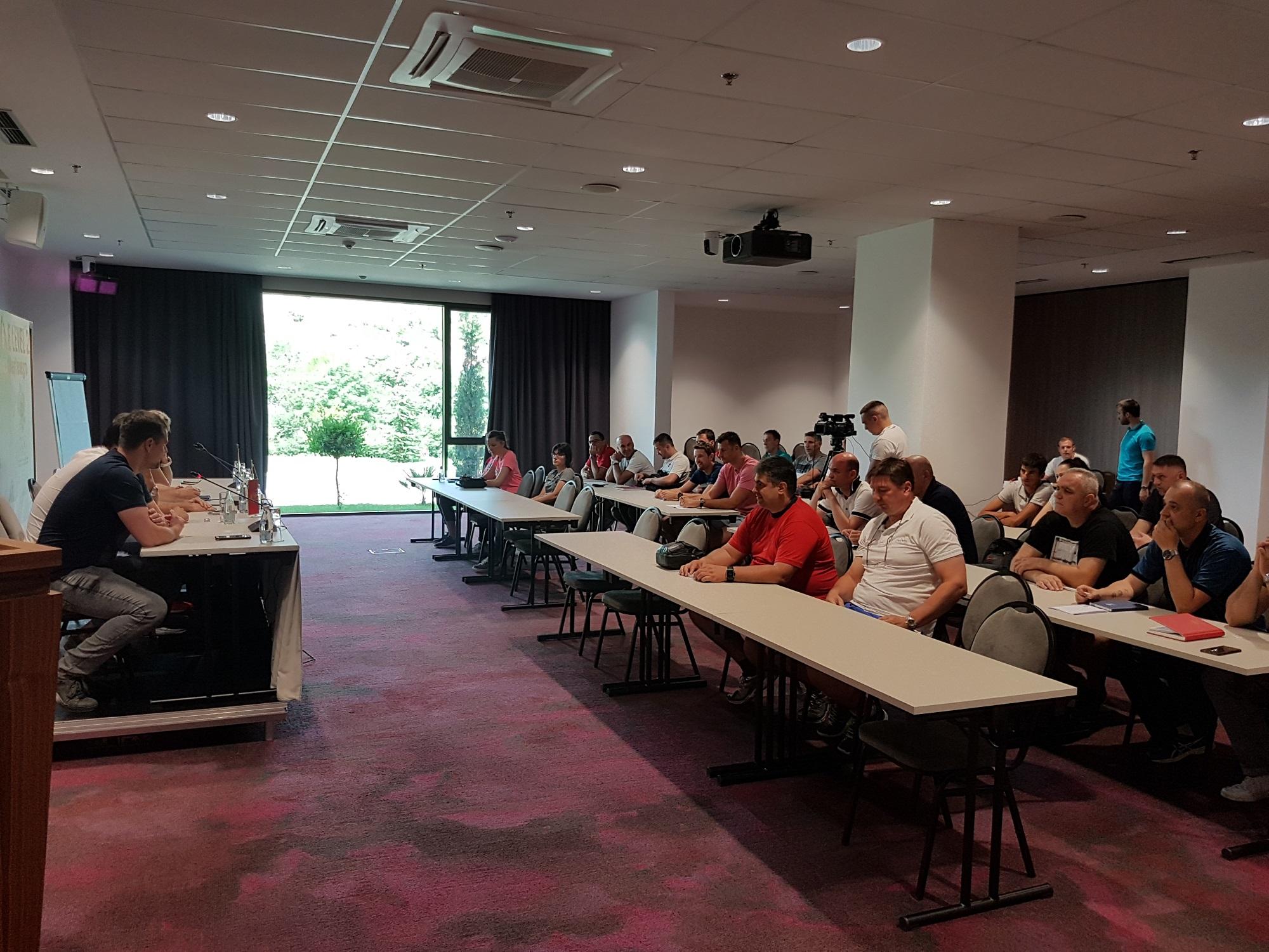Licencni seminar za trenere u nedelju u Verde Complex-u