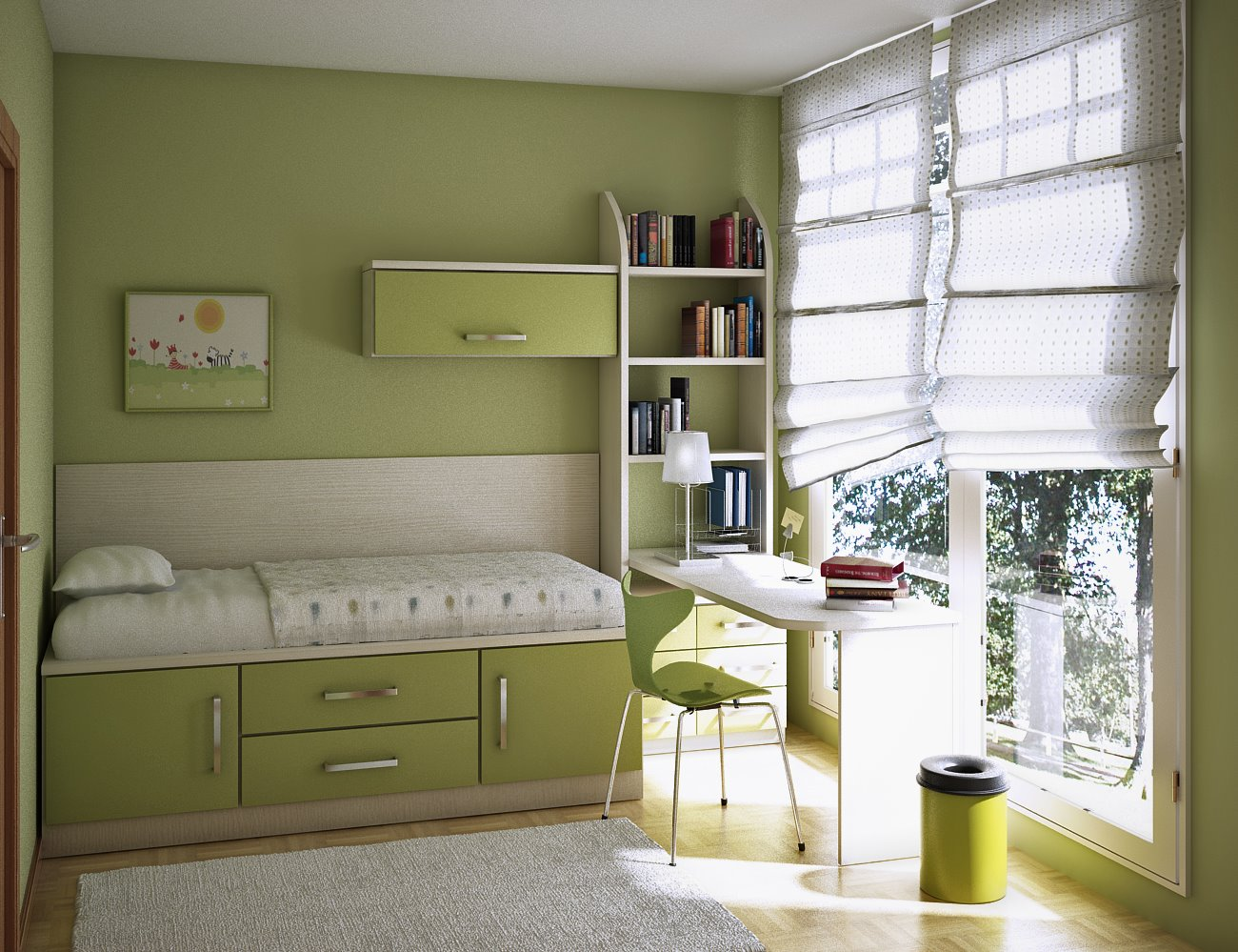Room Trend Design and Decorating Ideas for Teen Room