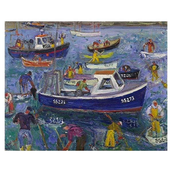 A-Good-Catch-Linda-Weir-Trent-Art
