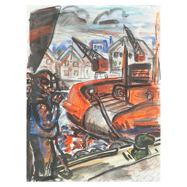 Sailors-Smoking-Peter-Howson-Trent-Art
