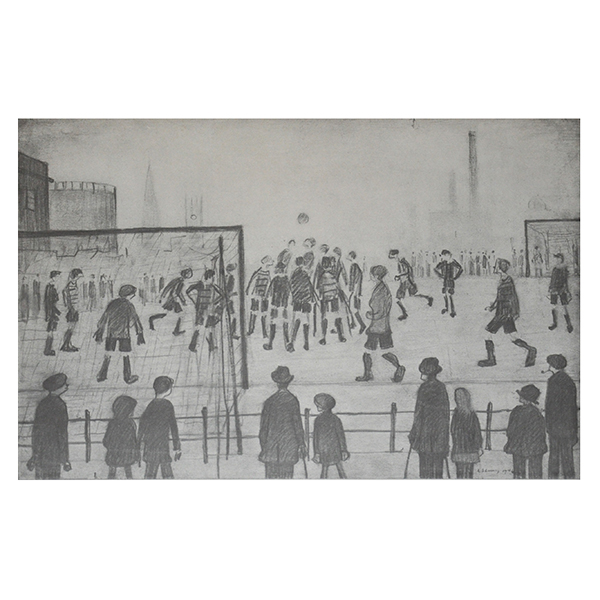 The-Football-Match-1389-1500-Laurence-Stephen-Lowry-Trent-Art