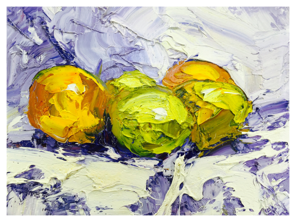 Oranges and Lemons Still Life, Colin Halliday