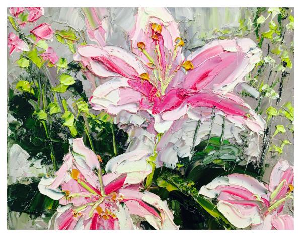 Asian Lillies, Colin Halliday