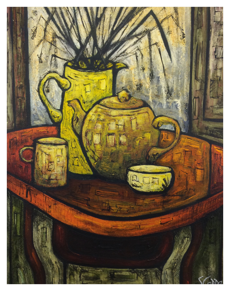Still Life with Tea Pot, Steve Capper