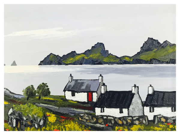 Cottage in The Hebrides, David Barnes