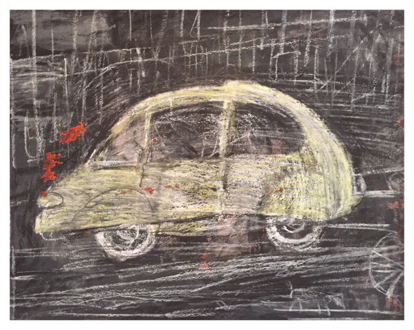 Yellow Car, Arthur Berry
