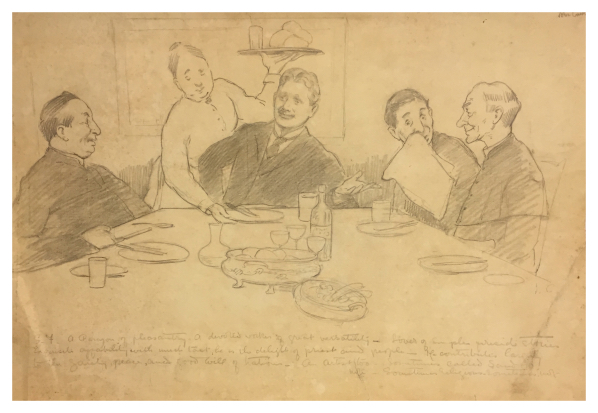 George Fletcher & Priests Ireland 1909, John Currie