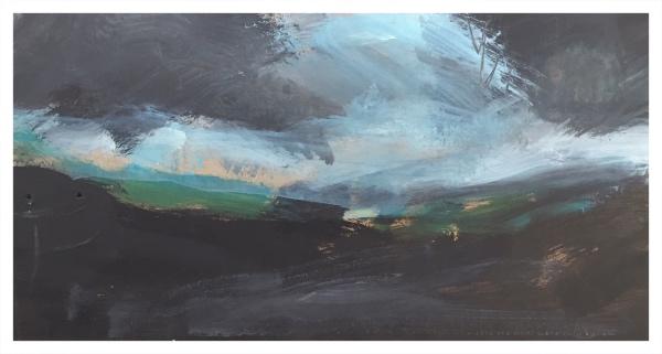 Moorland Under Cloud II, Ian Mood