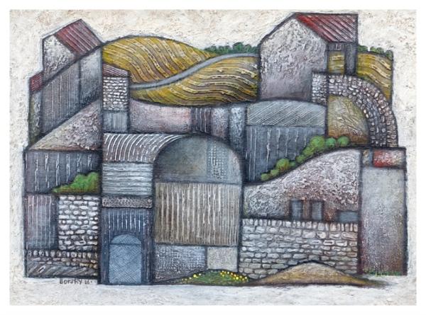 Borsky, Jiri (1945 – ) Farm (2016) - Trent Art