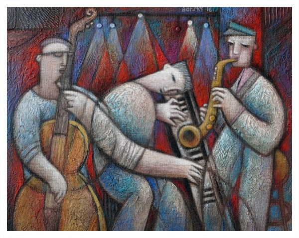 Borsky, Jiri (1945 – ) Hot Trio - Trent Art