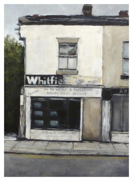 Derelict TV Shop (Whitfields), David Brammeld