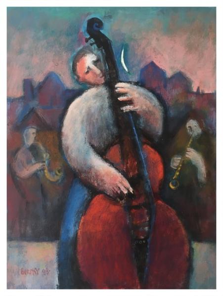 Borsky, Jiri (1945 - ) Bass Player - Trent Art