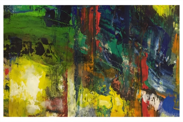 Small Abstract Colour, Jack Simcock