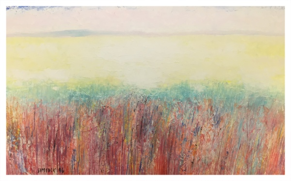 Colour Landscape, Jack Simcock