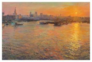 Sunset Over the Corniche, Rob Pointon