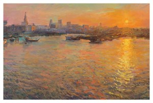 Sunset Over the Corniche, Rob Pointon