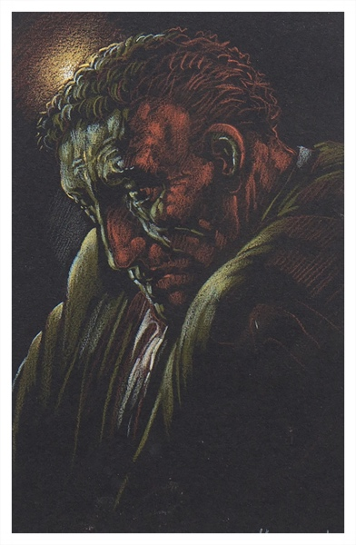 Peter Howson - The First Step (Trent Art) Buy Peter Howsons now