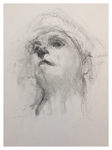 Mood, Ian (1973 – ) Study for the Head of a Boy - Trent Art