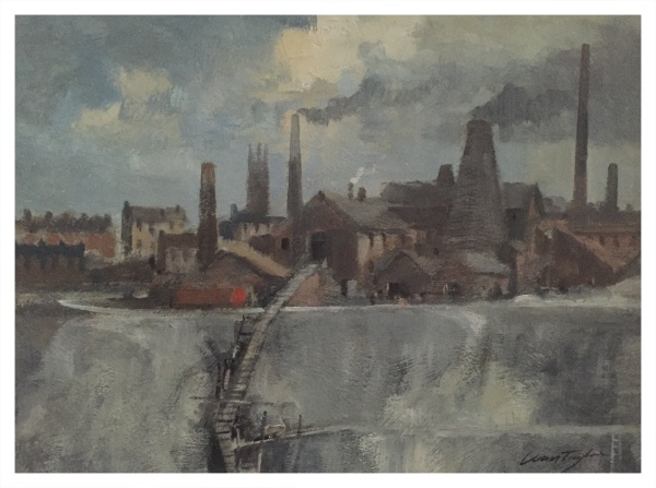 Taylor, Ivan (1946 – ) The Marl Hole Longton 1959 - Trent Art