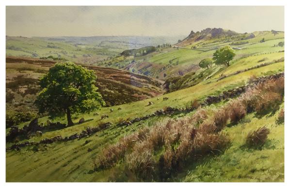 Faulkner, Neil (1952-) Ramshaw Rocks, The Roaches Peak District - Trent Art
